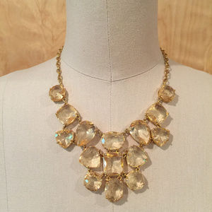 Kate spade vegas jewels necklace champagne yellow